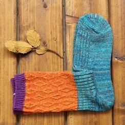 Gemini - Contrast Color Socks