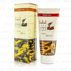 Farm Stay - Pure Cleansing Foam (Red Ginseng)