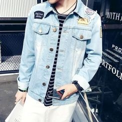 RUYA - Washed Denim Jacket