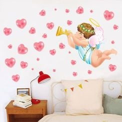 LESIGN - Angel Non-marking Wall Stickers
