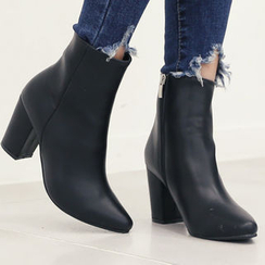 DANI LOVE - Chunky-Heel Ankle Boots