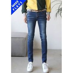 PLAYS - Washed Slim-Fit Jeans