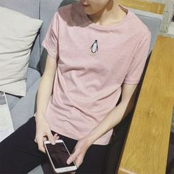 ZZP HOMME - Penguin Short-Sleeve T-Shirt
