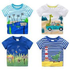 Seashells Kids - Kids Printed Short-Sleeve T-Shirt