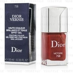 Christian Dior - Dior Vernis Couture Colour Gel Shine and Long Wear Nail Lacquer - # 758 Victoire