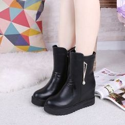 Sunsteps - Hidden Wedge Short Boots