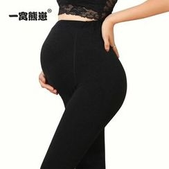 Mother Bear - Maternity Plain Tights