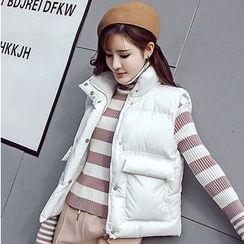 Honeydew - 純色夾棉馬甲
