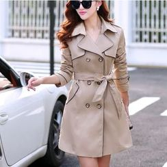 Donnae - Piped Trench Coat