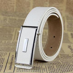 Charm n Style - Faux-Leather Belt