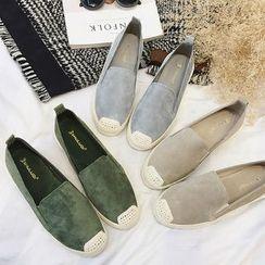 Zapatos - Genuine Leather Slip-Ons