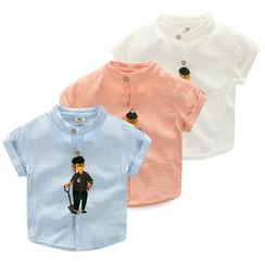Seashells Kids - Kids Print Short-Sleeve Shirt