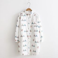 Angel Love - Printed Long Shirt