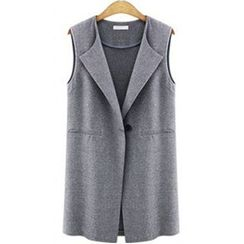 Arroba - Single-Button Vest