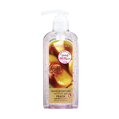 Nature Republic - Hand And Nature Sanitizer Gel (Ethanol) - Peach 250ml