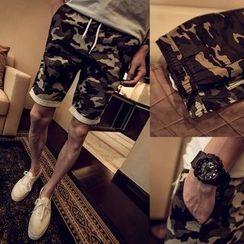 Ekinbrown - Camo Shorts