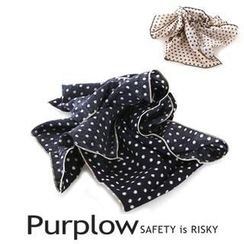 Purplow - Dot Pattern Scarf