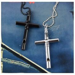 Trend Cool - Cross Whistle Necklace