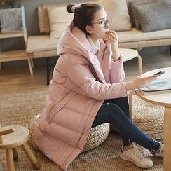 OTTI - Hooded Long Padded Coat