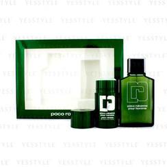 Paco Rabanne - Pour Homme Coffret: Eau De Toilette Spray 100ml/3.3oz + Deodorant Stick 75ml/2.2oz