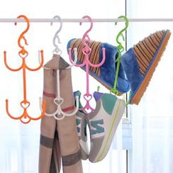 Yulu -  Double Hook Drying Shoe Rack
