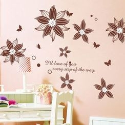 LESIGN - Flower Wall Sticker