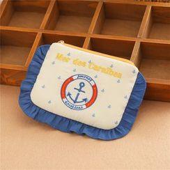 Cottoncraft - 刺繡衛生巾收納包
