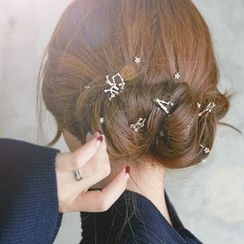 Hello Girl - Rhinestone Horoscope Hair Clip