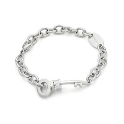 Kenny & co. - Key Shaped Steel Bracelet