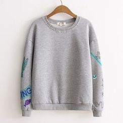 ninna nanna - Embroidered Sweatshirt