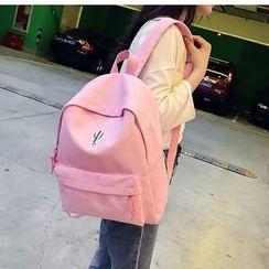 Seok - 仙人掌刺绣背包