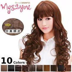 Wigs2You - Long Full Wig -  Curly