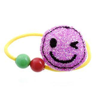 Fit-to-Kill - Dazzling pink glitter smile hair band