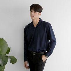 Seoul Homme - Notched-Lapel Shirt