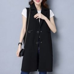 Romika - Sleeveless Long Blazer