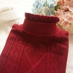 Cobblestone - Argyle Sweater