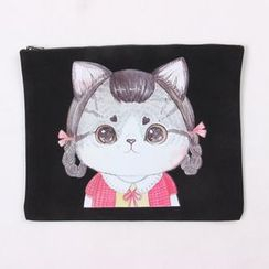 Eastin - Printed Canvas Pouch