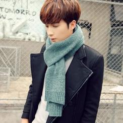 Snow Sheep - 純色針織圍巾