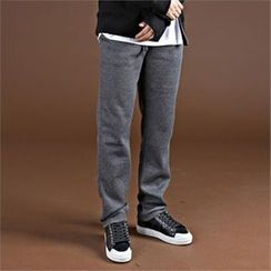 THE COVER - Fleece-Lined Sweat Pants