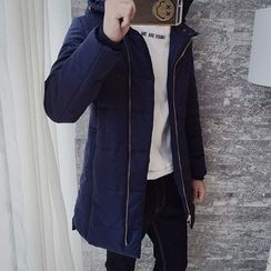 Dubel - Hooded Zip Padded Coat