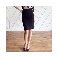MASoeur - Zip-Back Pencil Skirt