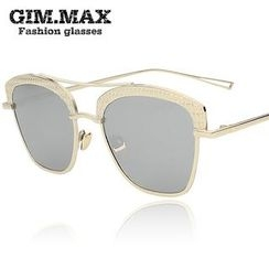 GIMMAX Glasses - Mirrored Square Sunglasses