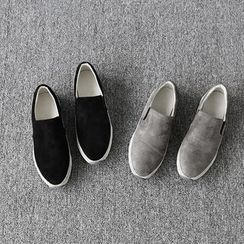 NANING9 - Faux-Suede Slip-Ons