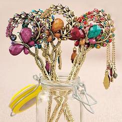 Missy Missy - Butterfly Rhinestone Hair Pin