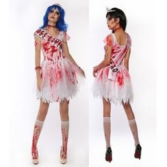 Gembeads - Miss Living Dead Zombie Party Costume