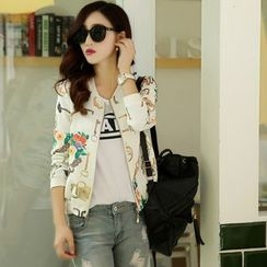 Romantica - Printed Zip Jacket