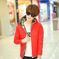 COOLS - Hooded Padded Coat