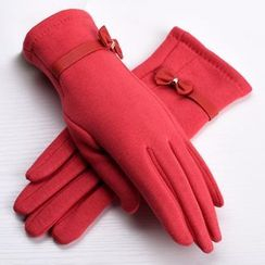 RGLT Scarves - Bow-Accent Gloves