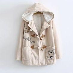 Musume - Printed Toggle Coat