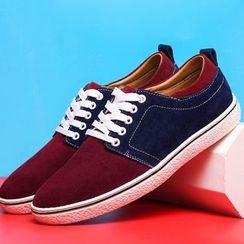 Van Camel - Color Block Sneakers